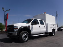 2010 Ford F450 Crew Cab 9FT Enc