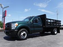 2011 Ford F350 12FT Stake 2wd