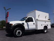 2009 Ford F450 9FT Enclosed Uti