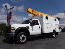 2009 Ford F550 11FT Enclosed Ut