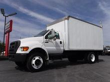 2007 Ford F750 16FT Box Truck C