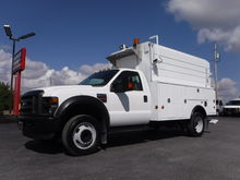 2008 Ford F550 11FT Enclosed Ut