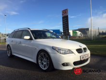 BMW 535D Vans and passenger car