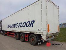 Kel-Berg 90 m3 alloy box Traile