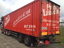 Samro 2 axle box trailer with 2