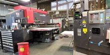 Used Amada Vipros 568 CNC 55 To