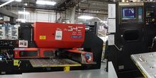 Used Amada Pega 345 King Turret