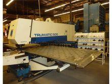 28 Ton Trumpf TC-500 CNC Turret