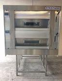 Wood oven with pellet burner fl