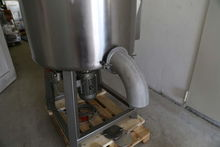Mixer 450 liters stainless stee