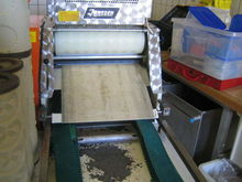 Jansen biscuit forming machine