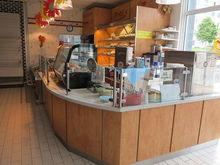 Corte shop counter