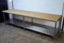 Baker's table 300 cm