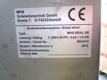 MHS IDEAL SB Bread slicer