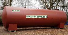 Steel tank P2 40,000 L double-w