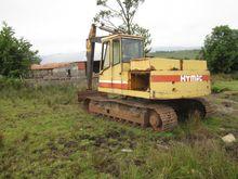 1992 Hy-Mac 141 Track excavator