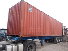 40ft HC Container Storage, Buil