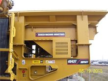 2014 SCREEN MACHINE 4043T