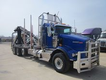 2013 KENWORTH T800-LOG TRUCK