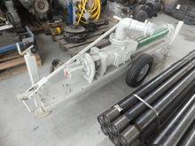 Portable screw pump hydraulical