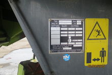 Used Claas Lexion 46