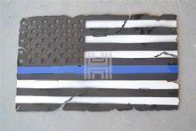 METAL FLAG WALL ART