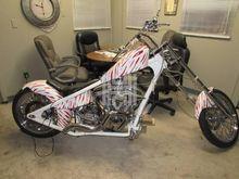 2008 CUSTOM CHOPPER W/ONLY 1600