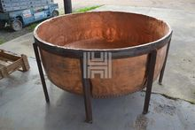 "65"" DIAMETER COPPER POT"