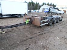 2004 HFR 3 Axel Containertraile