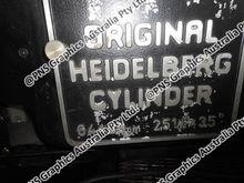 Heidelberg 25 x 35, SBD cylinde
