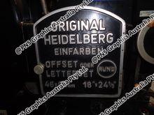 Heidelberg KORD 62 Cylinder