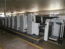 Sheeted offset machine. Product