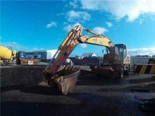 CATERPILLAR, Mobile excavator,