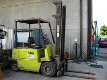 Used Electric Fork Truck CLARK