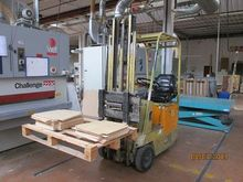 Used Electric Fork Truck OM 4MI