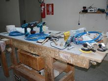 Used Working Bench ARTIGIANALE