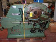 Used Round End Tenoner BACCI 4F