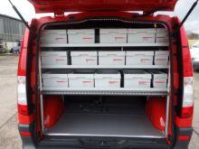 1ae9aeb5bb Gebraucht 2013 Mercedes-Benz Vito 113 2.2 CDI - KLIMA - Werkstatteinbau   19628 079 in Rohrbach
