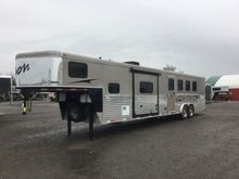 2014 Bison Trailers 8414TE 2640
