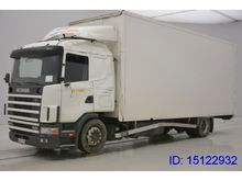 2001 Scania R124.420 - ACCIDENT