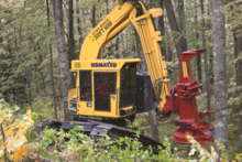 2015 Komatsu Forest XT445L-3 55