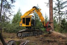 2012 Komatsu Forest XT445L-2 60