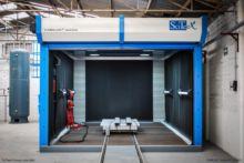 SciTeeX sandblasting booths fro