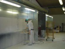 Lakrum - spray booths - afdunst