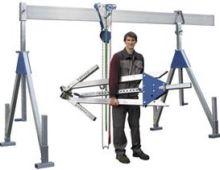 Aluminium gantry crane - with f