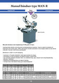 Used Manual band saw