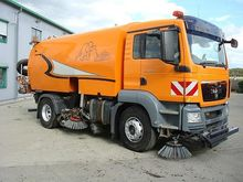 MAN TGS 2008 sweeper 18320