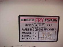 George Fry Bag tucker #4000