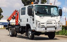2009 Isuzu Nps300 Crew Cab With