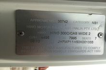 2010 HINO 716 - 300 Series 7...